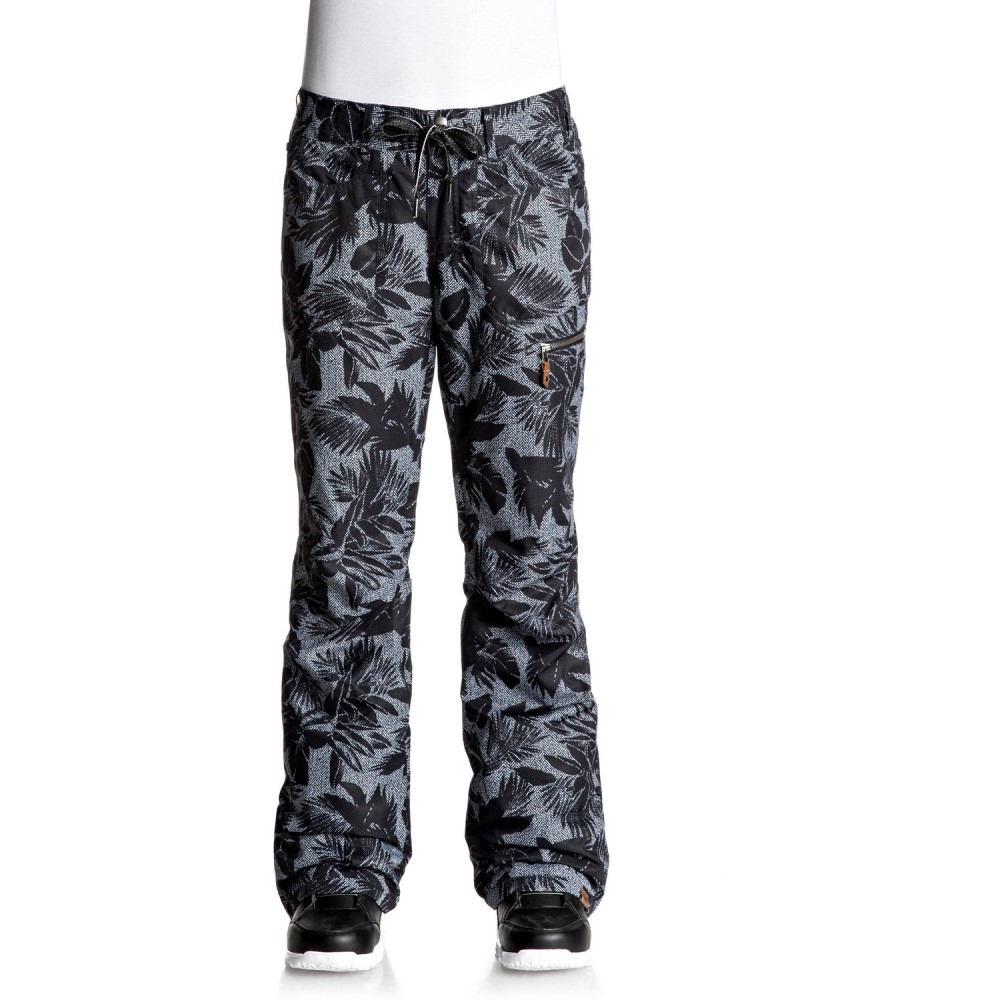ロキシー レディース スキー・スノーボード ボトムス・パンツ【Rifter Printed Snowboard Pants】True Black/ Floral Herringbone
