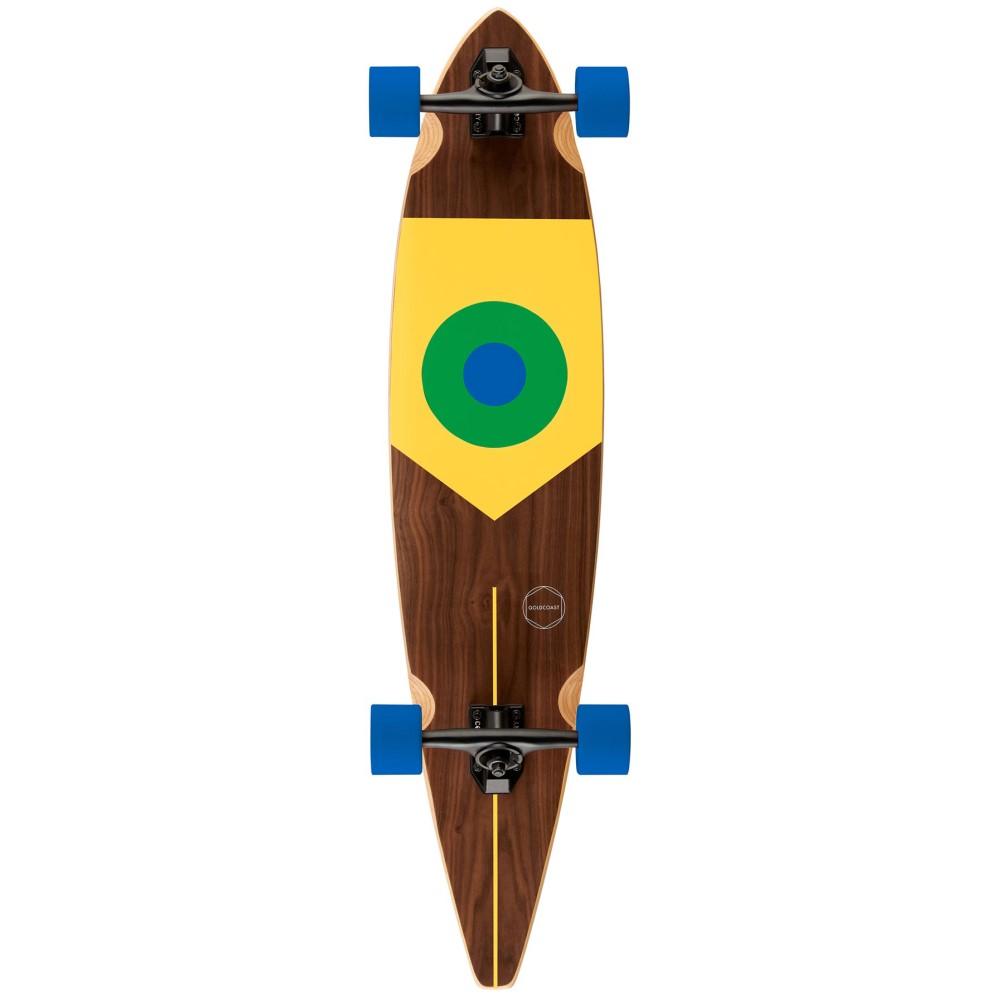 ゴールドコースト ユニセックス スケートボード ボード・板【Goal Longboard Complete】Brazil