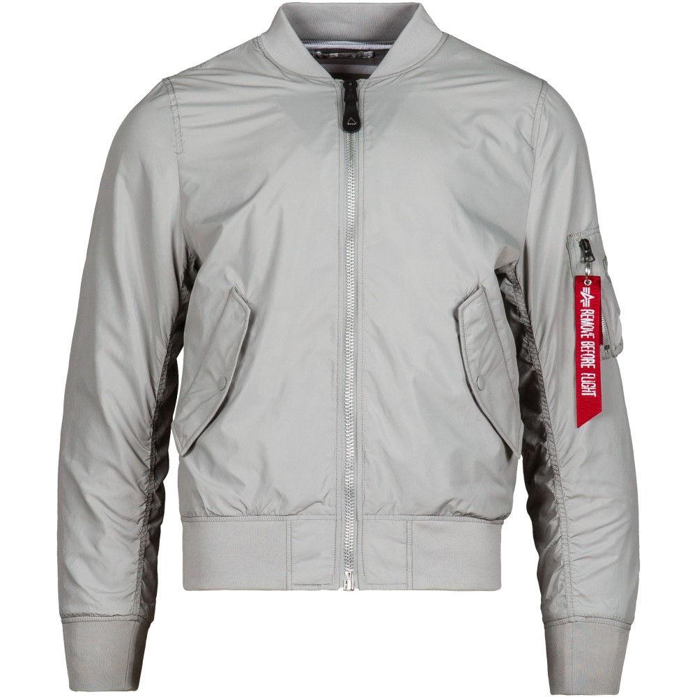 アルファ インダストリーズ メンズ アウター ジャケット【L-2B Scout Jacket】New Silver