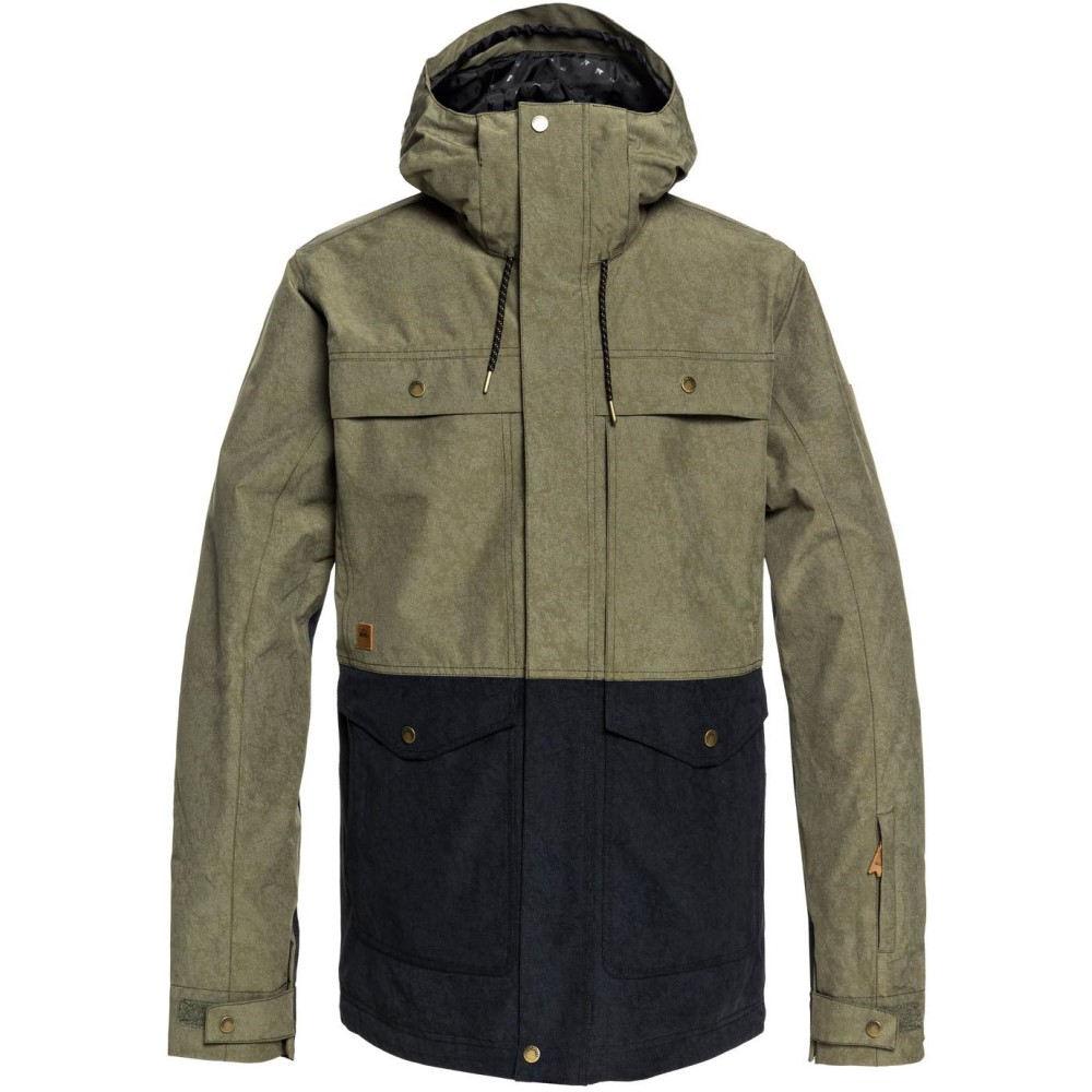 クイックシルバー メンズ スキー・スノーボード アウター【Horizon Snowboard Jacket 2019】Grape Leaf