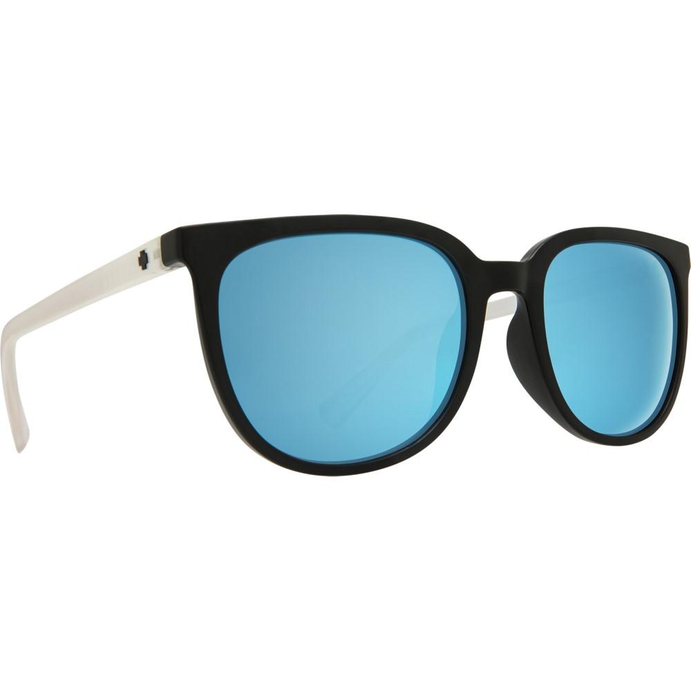 スパイ メンズ スポーツサングラス【Fizz Sunglasses】Matte Black Matte Crystal/ Grey Light Blue Spectra Lens