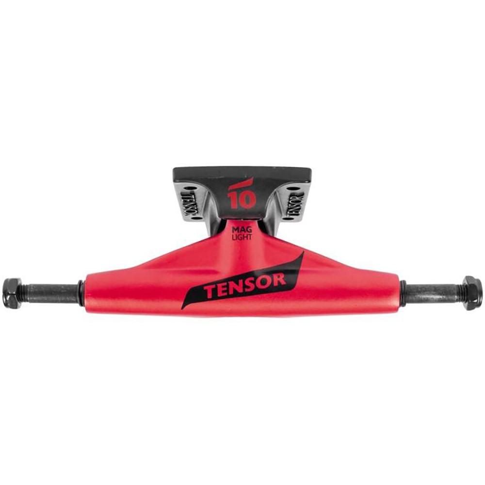 テンサー ユニセックス スケートボード【Mag Light Lo Flick Skateboard Trucks (Pair)】Red/ Black Flick