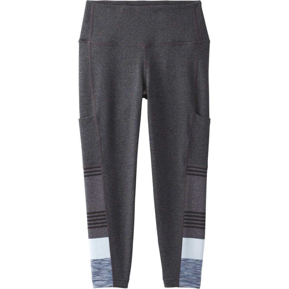 プラーナ レディース インナー・下着 スパッツ・レギンス【Borra Pocket Capri Leggings】Charcoal Heather Stripe