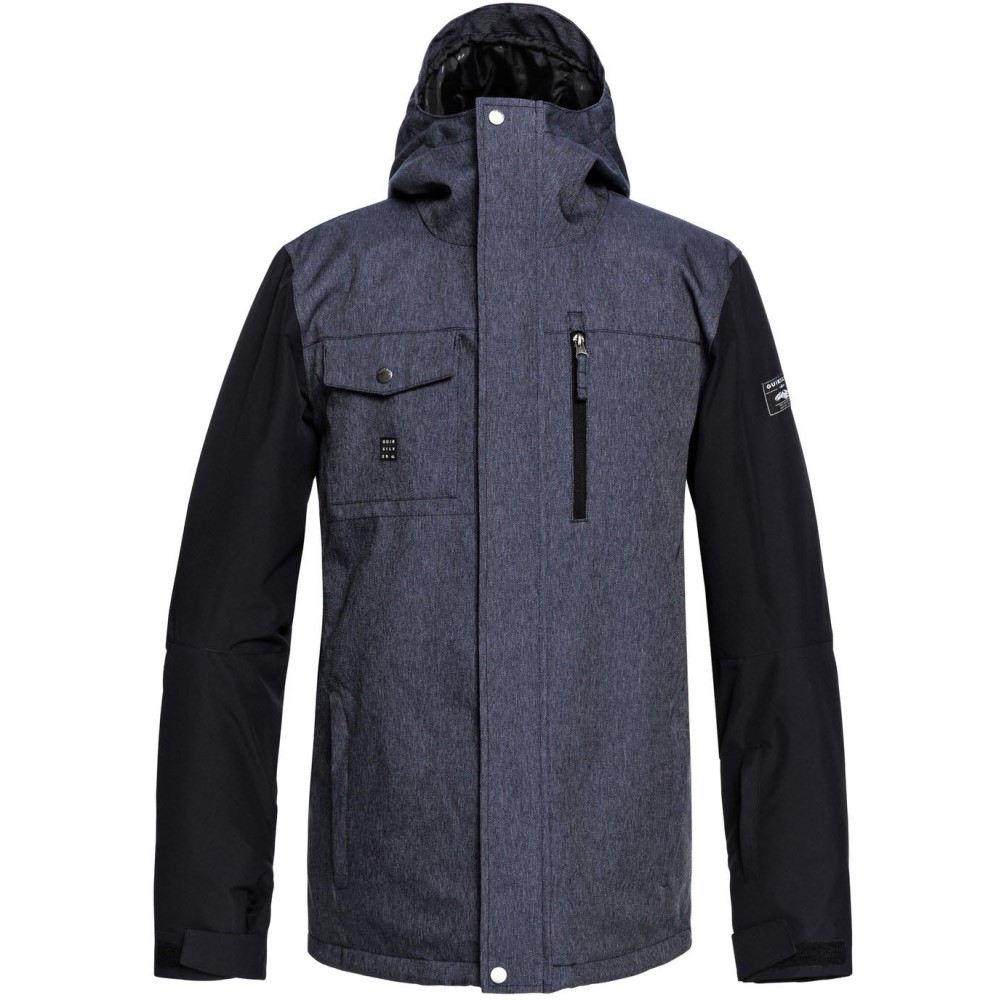クイックシルバー メンズ スキー・スノーボード アウター【Mission Denim Snowboard Jacket 2019】Dress Blues