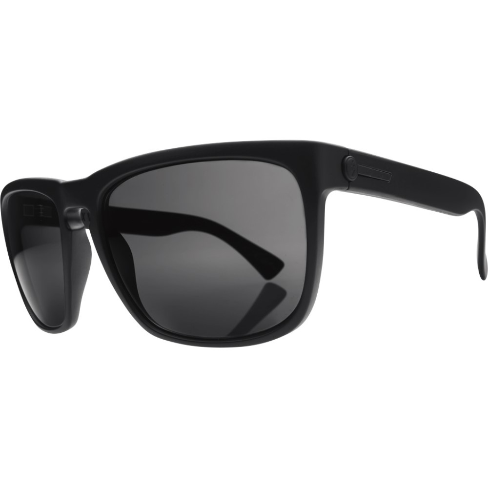 エレクトリック メンズ メガネ・サングラス【Knoxville XL Sunglasses】Matte Black/ Ohm Polarized Grey Lens