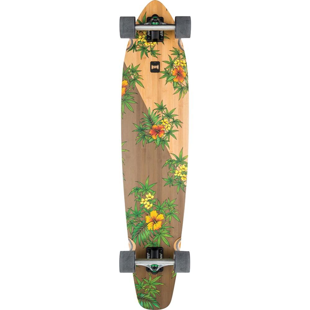 グローブ ユニセックス スケートボード ボード・板【Byron Bay Longboard Complete】Bamboo/ Medusa