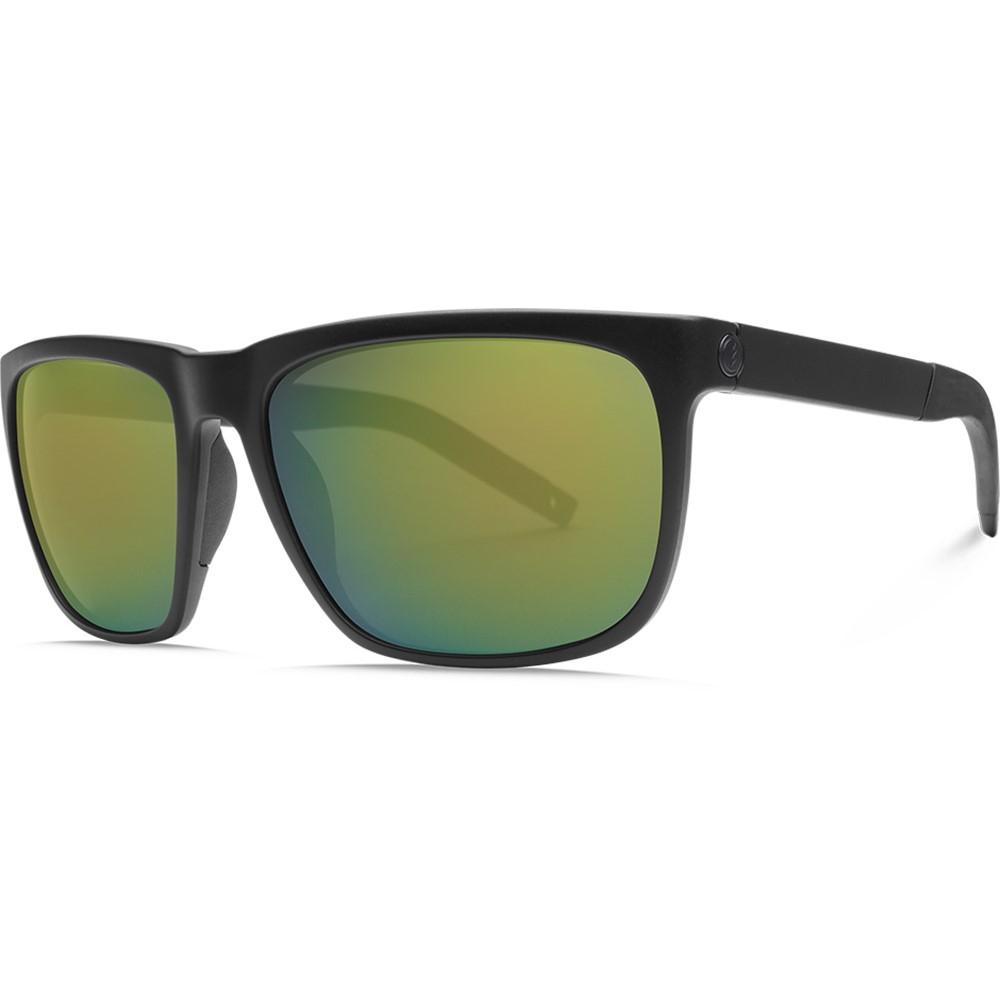 エレクトリック メンズ スポーツサングラス【Knoxville XL-S Sunglasses】Matte Black/ Ohm+ Polarized Bronze( Green) Lens