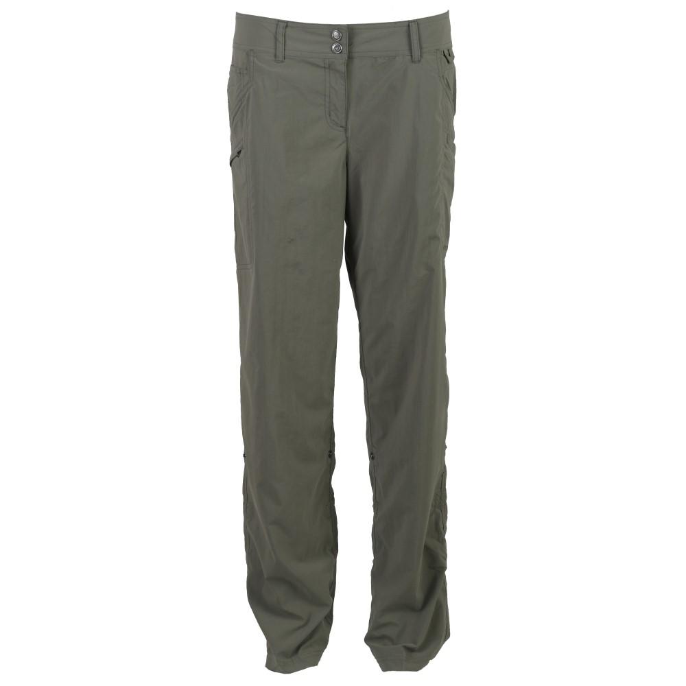 エクスオフィシオ レディース ハイキング・登山 ボトムス・パンツ【Nomad Roll-Up Hiking Pants】Bay Leaf