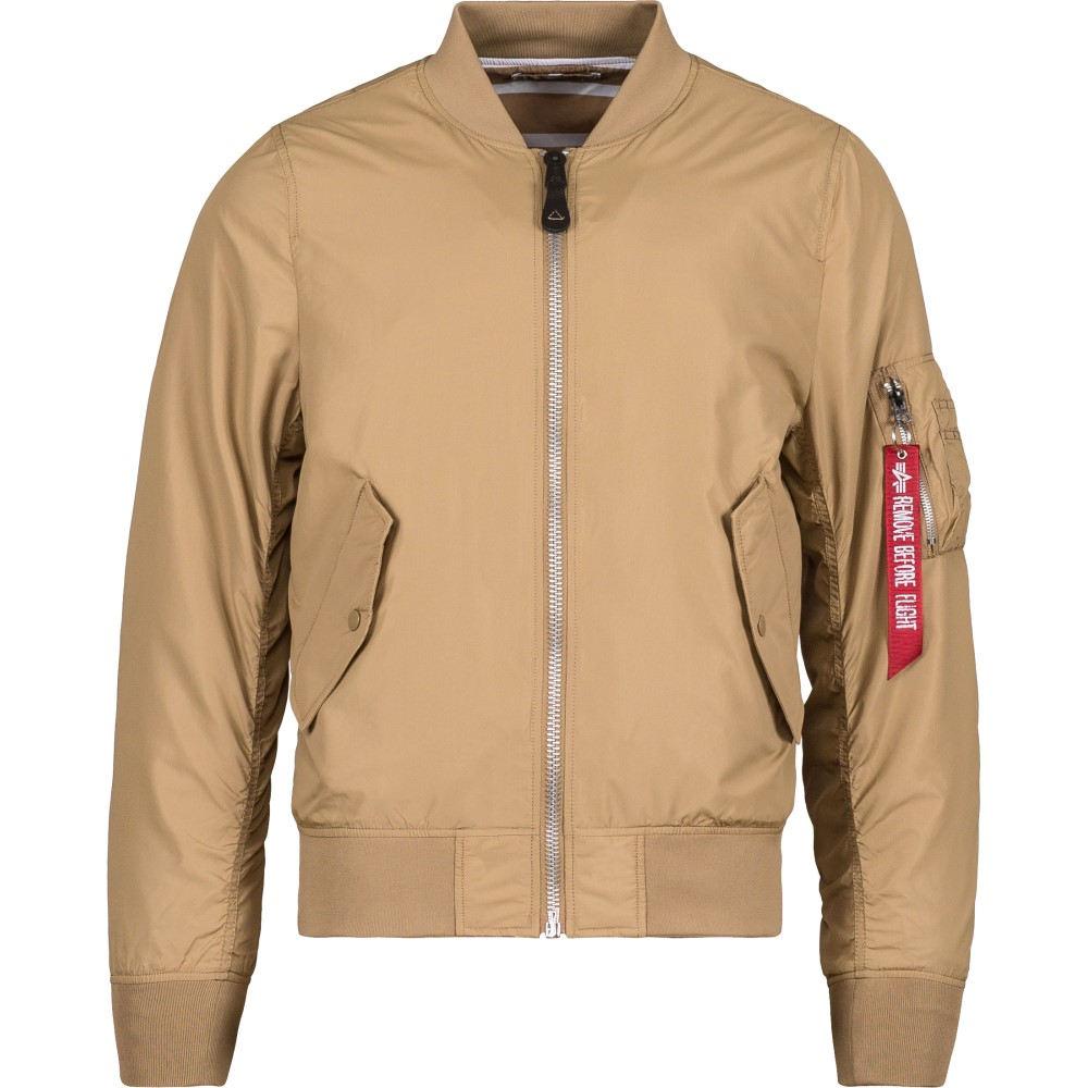アルファ インダストリーズ メンズ アウター ジャケット【L-2B Scout Jacket】Beige/ Striped Lining