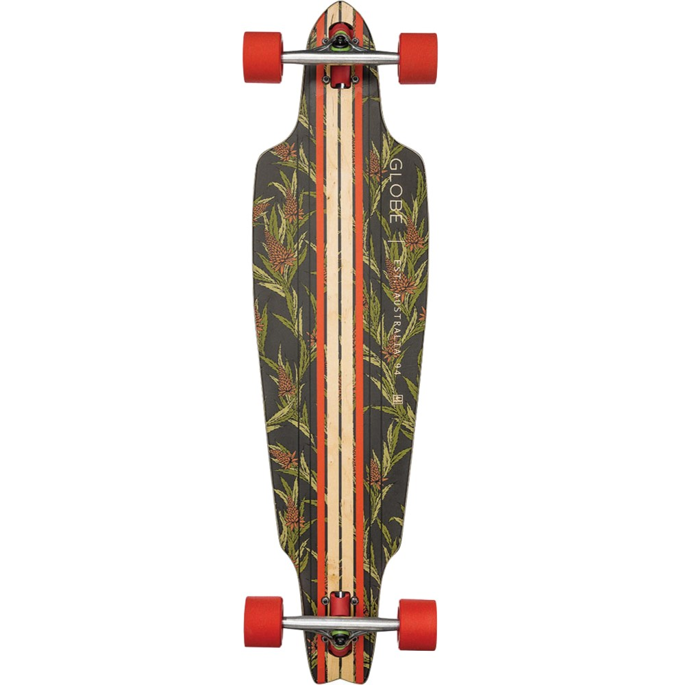 グローブ ユニセックス スケートボード ボード・板【Prowler Longboard Complete】Vintage Black/ Thistle