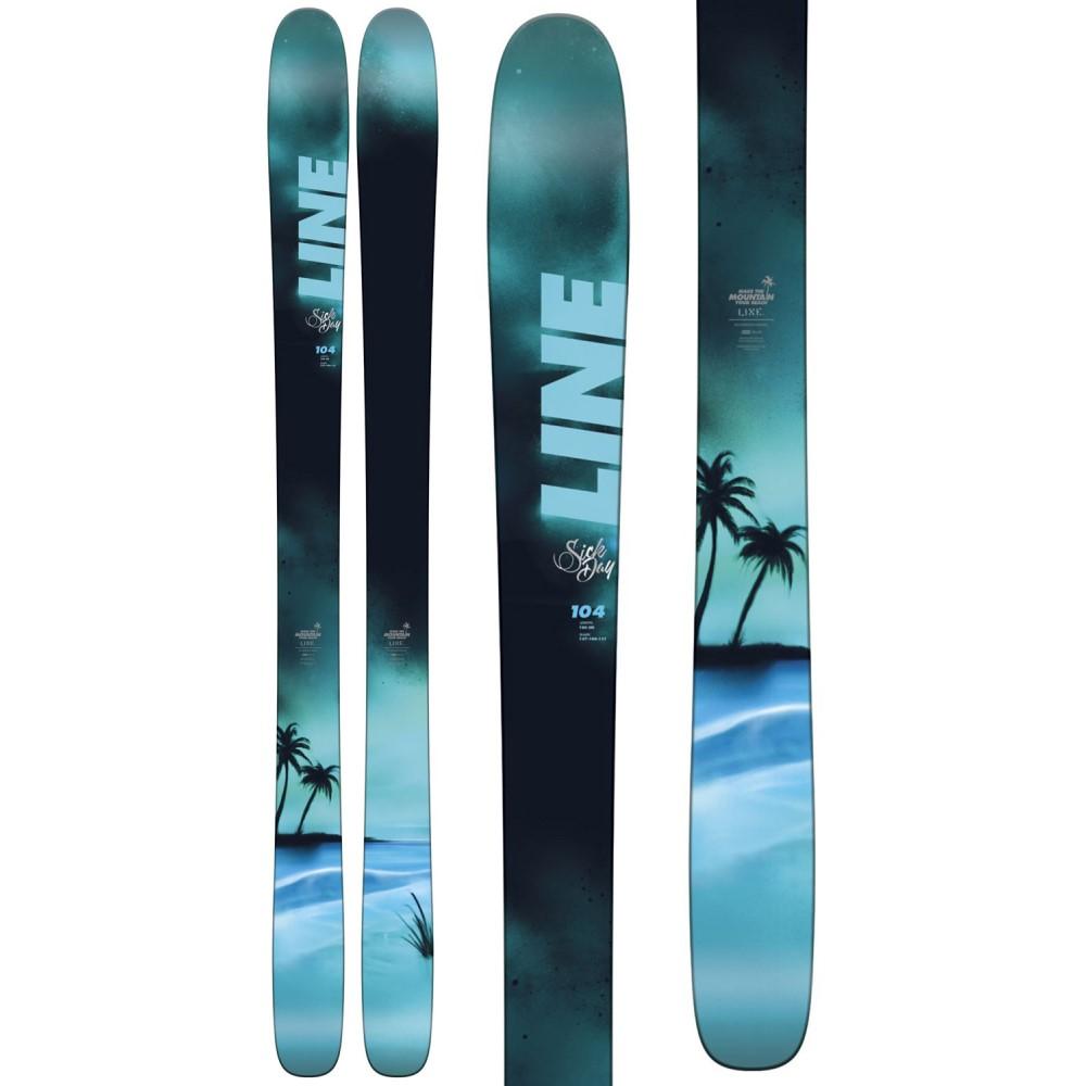 ライン ユニセックス スキー・スノーボード ボード・板【Sick Day 104 Skis 2018】