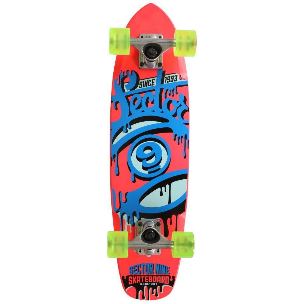 セクターナイン ユニセックス スケートボード ボード・板【The 95 Cruiser Complete】Pink