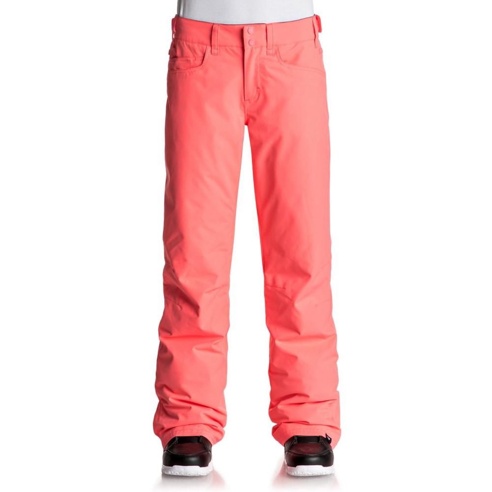 ロキシー レディース スキー・スノーボード ボトムス・パンツ【Backyard Snowboard Pants】Neon Grapefruit