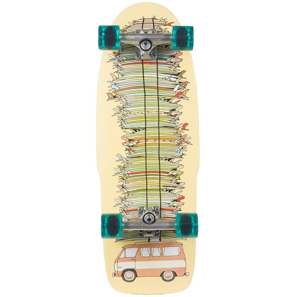 500 ユニセックス スケートボード ボード・板【Kevin Butler - Super Stacked Shred Sled Cruiser Complete】