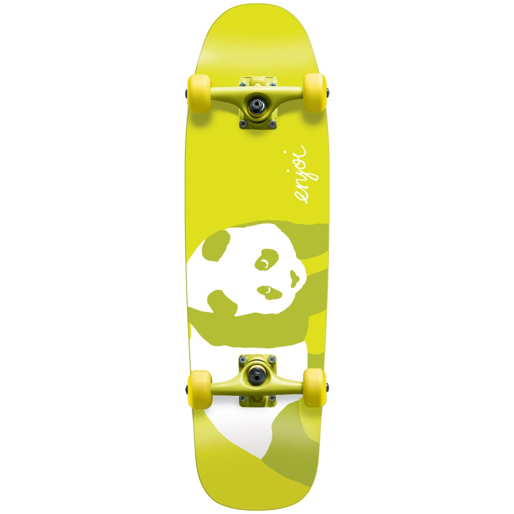 エンジョイ ユニセックス スケートボード ボード・板【80's Cruiser Complete】Yellow