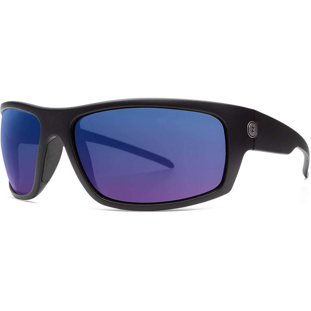 エレクトリック メンズ スポーツサングラス【Tech One XL-S Sunglasses】Matte Black/ Ohm+ Polarized Blue Lens