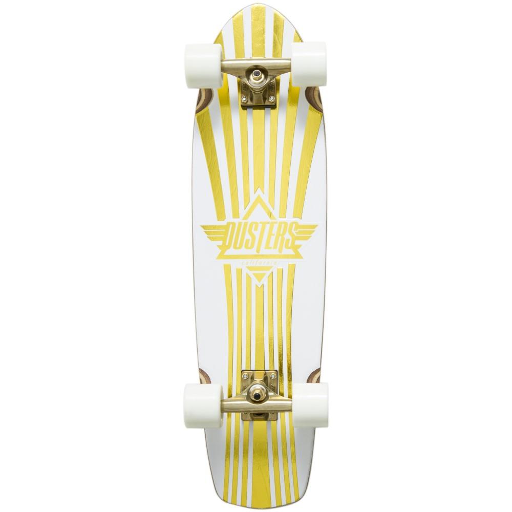 デュスターズ ユニセックス スケートボード ボード・板【Keen Prism Cruiser Complete】White/ Gold