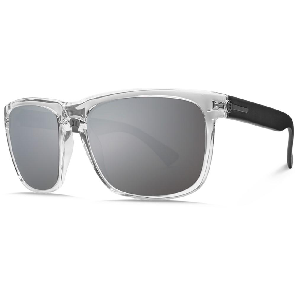 エレクトリック メンズ メガネ・サングラス【Knoxville XL Sunglasses】Crystal Black/ O H M Grey Silver Chrome Lens