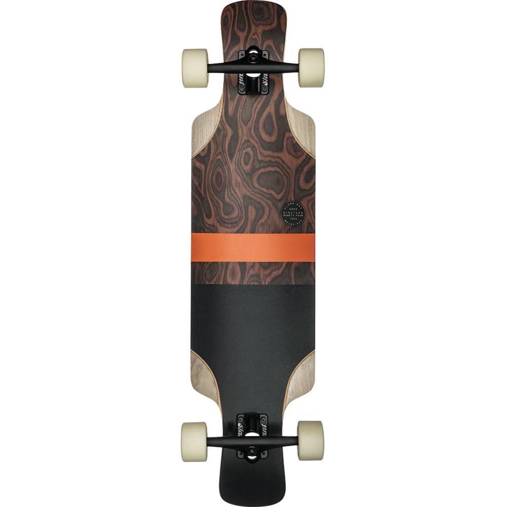 グローブ ユニセックス スケートボード ボード・板【Geminon Kick Longboard Complete】Burle/ Black