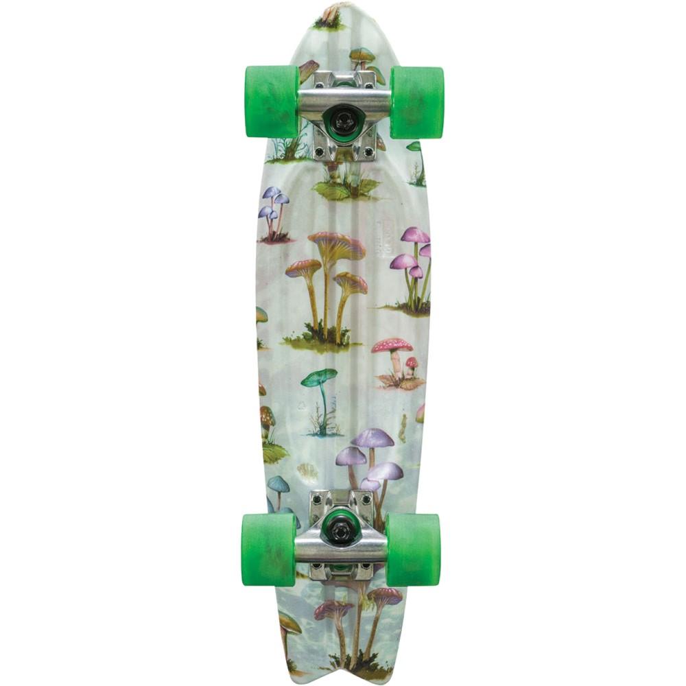 グローブ ユニセックス スケートボード ボード・板【Bantam Graphic ST Cruiser Complete】Mushroom Hunt