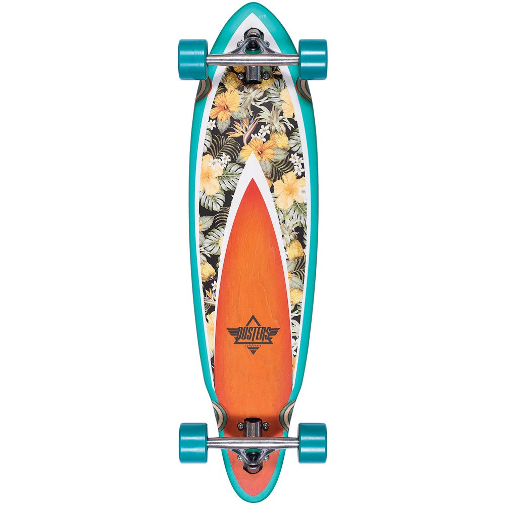 デュスターズ ユニセックス スケートボード ボード・板【Fin Hani Cruiser Complete】Turquoise