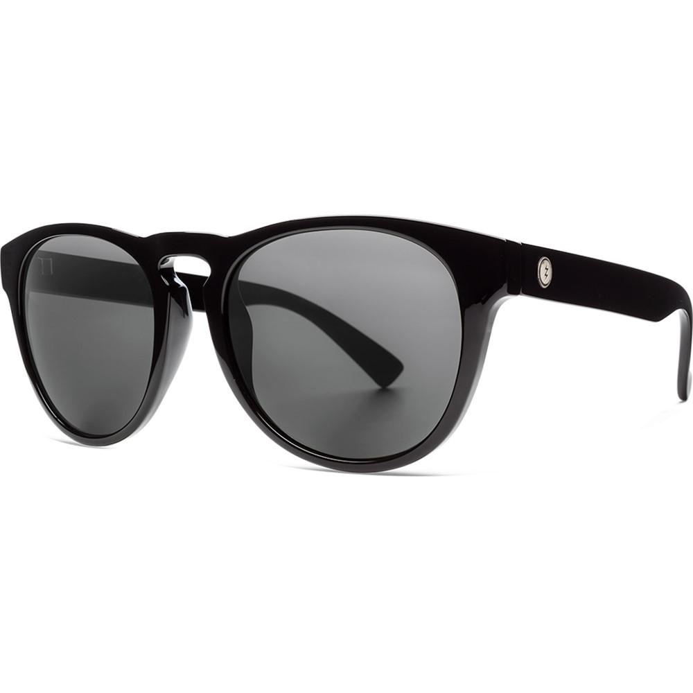 エレクトリック メンズ スポーツサングラス Lens【Nashville XL XL Ohm Sunglasses】Gloss Black/ Ohm Polarized Grey Lens, 伊具郡:80efe06d --- sunward.msk.ru