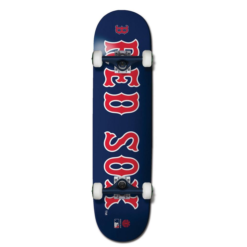 エレメント ユニセックス スケートボード ボード・板【MLB Red Sox Skateboard Complete】
