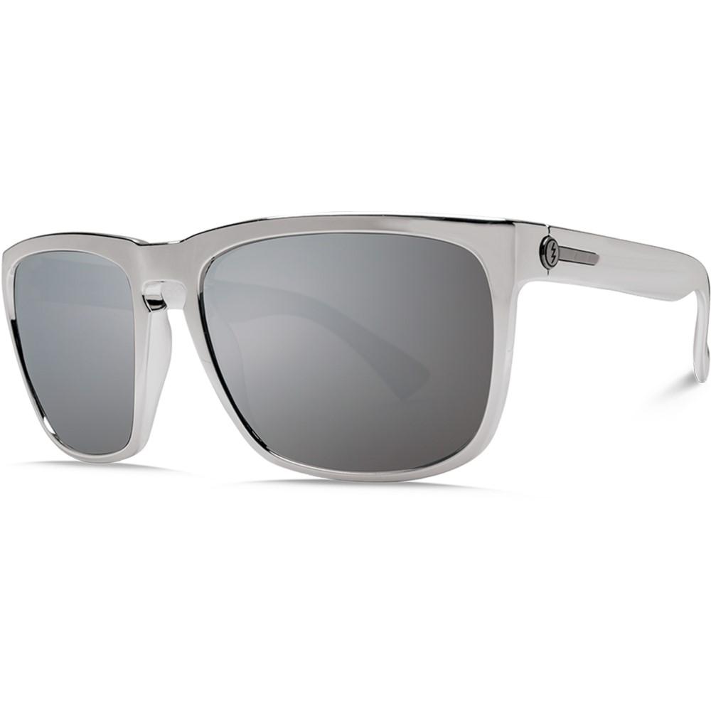 エレクトリック メンズ メガネ・サングラス【Knoxville Sunglasses】Black Chrome/ O H M Grey Silver Chrome Lens
