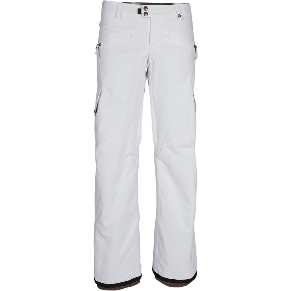 シックス エイト シックス レディース スキー・スノーボード ボトムス・パンツ【Mistress Insulated Cargo Snowboard Pants】White