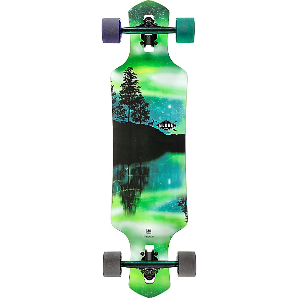 グローブ ユニセックス スケートボード ボード・板【Geminon 35 Longboard Complete】Aurora