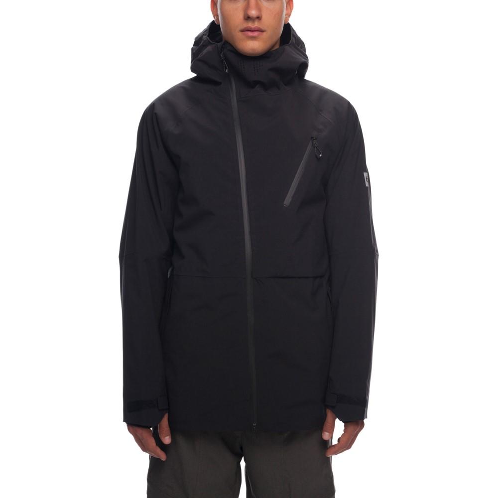 シックス エイト シックス メンズ スキー・スノーボード アウター【Hydra Thermagraph Snowboard Jacket 2019】Black