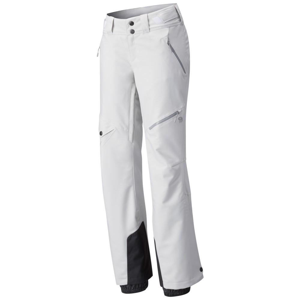 マウンテンハードウェア レディース スキー・スノーボード ボトムス・パンツ【Chute Insulated Long Ski Pants】White Twill