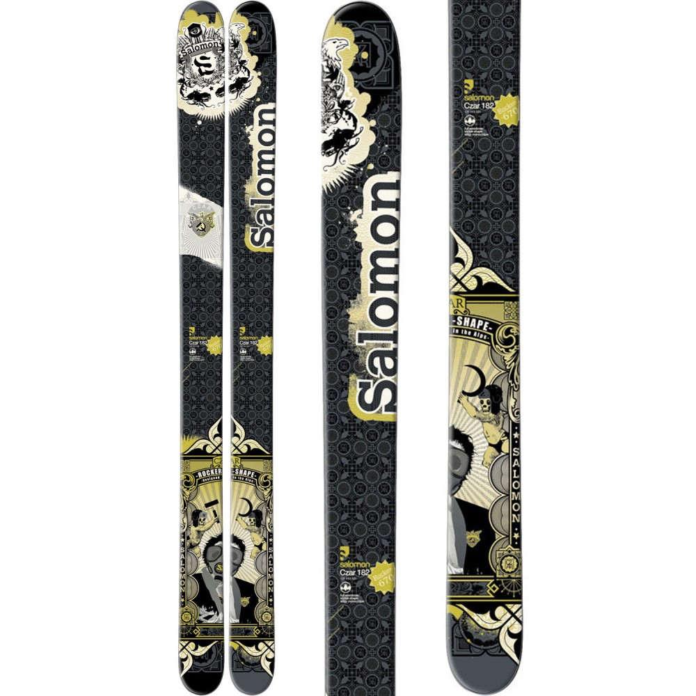 サロモン ユニセックス スキー・スノーボード ボード・板【Czar Skis】Black/ Green