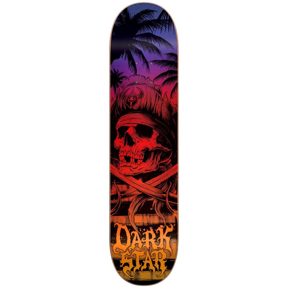 ダークスター ユニセックス スケートボード ボード・板【Helm Skateboard Deck】Sunset Fade