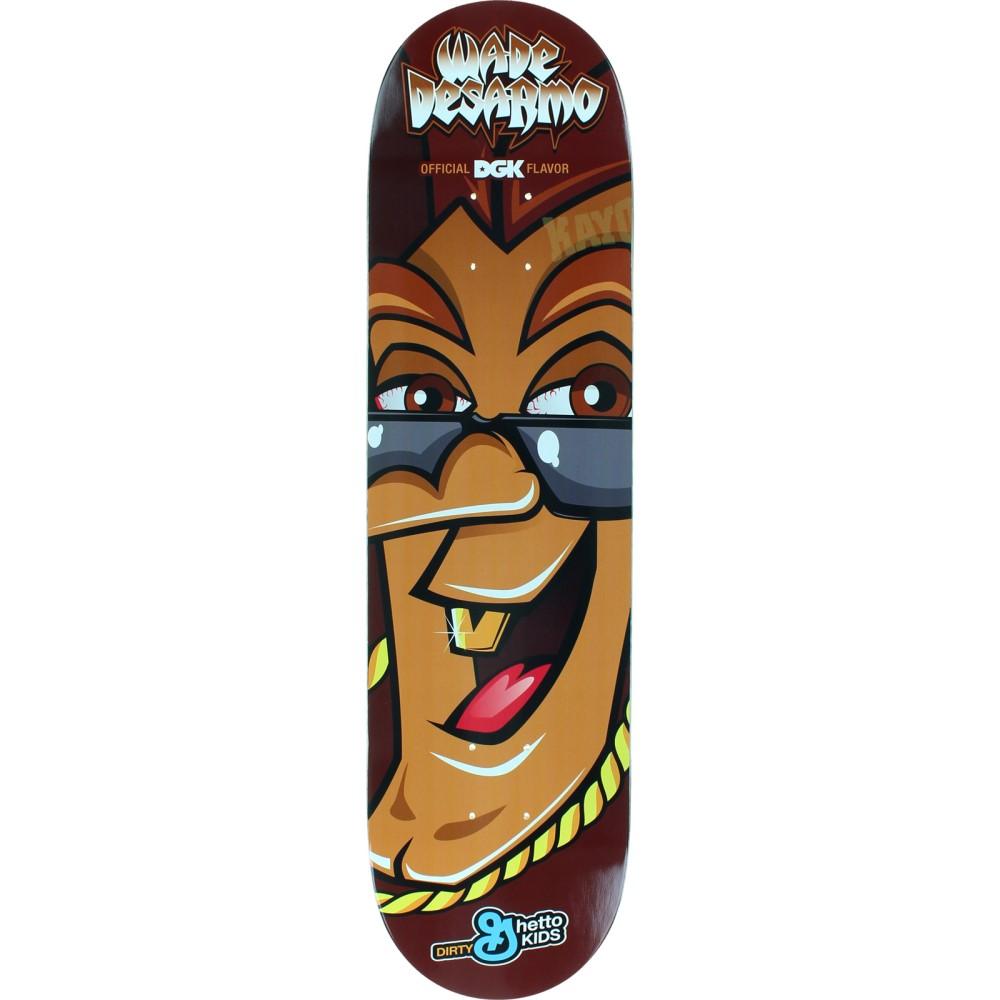 ディジーケー ユニセックス スケートボード ボード・板【Desarmo Edibles Skateboard Deck】