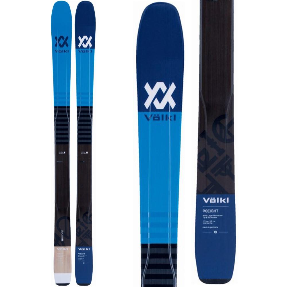 フォルクル ユニセックス スキー・スノーボード ボード・板【90 Eight Skis 2018】