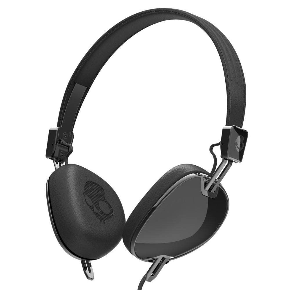 スカルキャンディー メンズ テックアクセサリー【Navigator w/ Mic 3 Headphones】Black