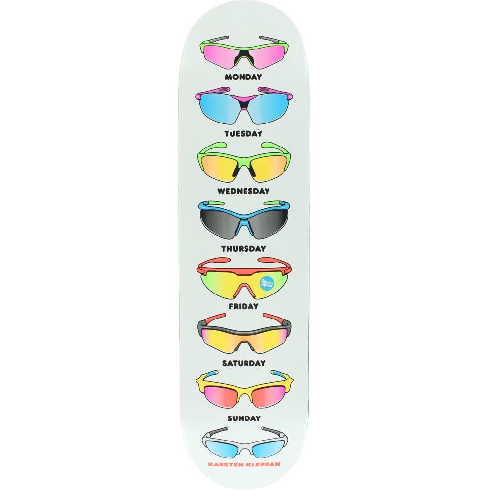 スケートメンタル ユニセックス スケートボード ボード・板【Kleppan Sunglasses Skateboard Deck】