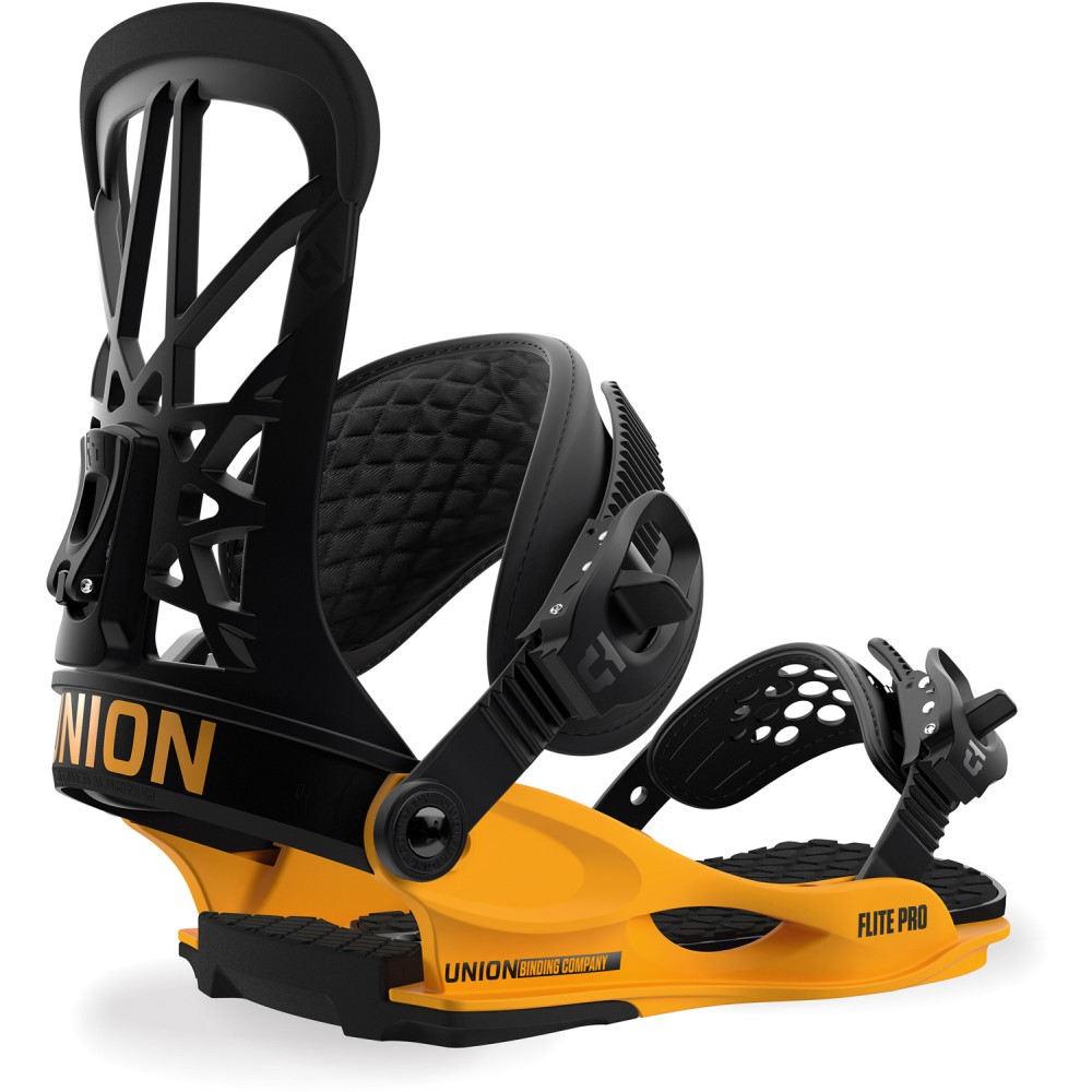 最高の品質 ユニオン Yellow ユニセックス スキー・スノーボード ユニオン ビンディング【Flite Pro Snowboard Snowboard Bindings 2019】Black/ Yellow, 藤橋村:0013a0c5 --- canoncity.azurewebsites.net