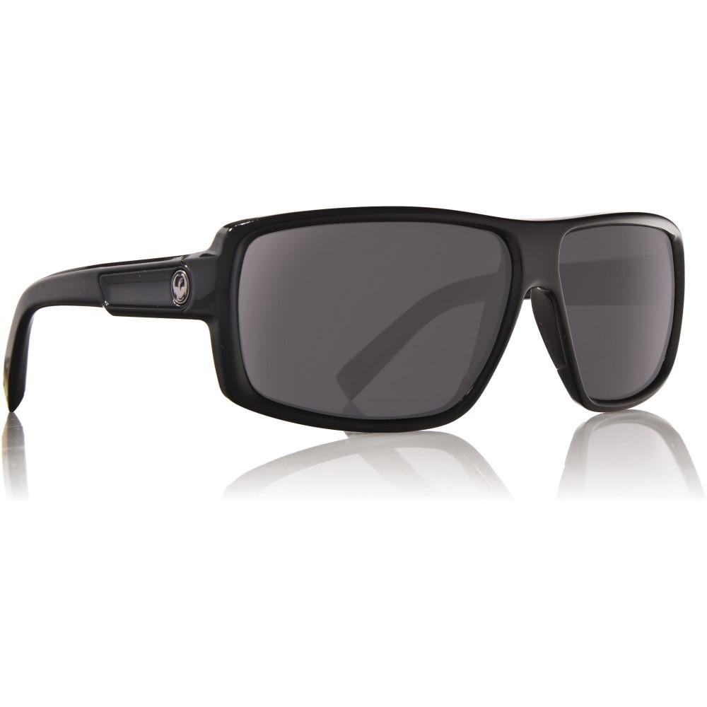 ドラゴン メンズ メガネ・サングラス【Double Dos Sunglasses】Jet/ Grey Lens