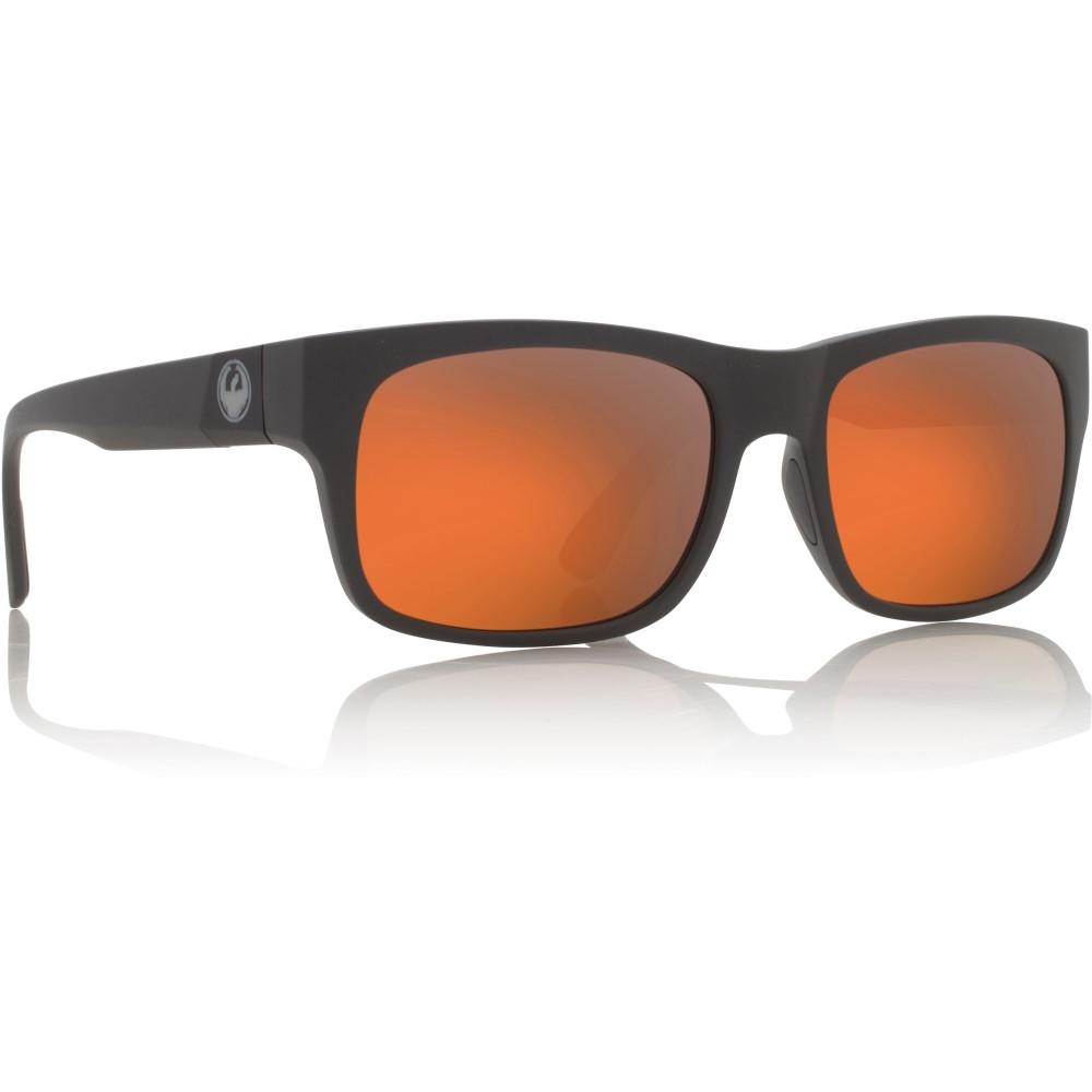 ドラゴン メンズ メガネ・サングラス【Tailback Sunglasses】Matte Magnet Grey H2 O/ Rose Gold Ion Performance Polarized Lens