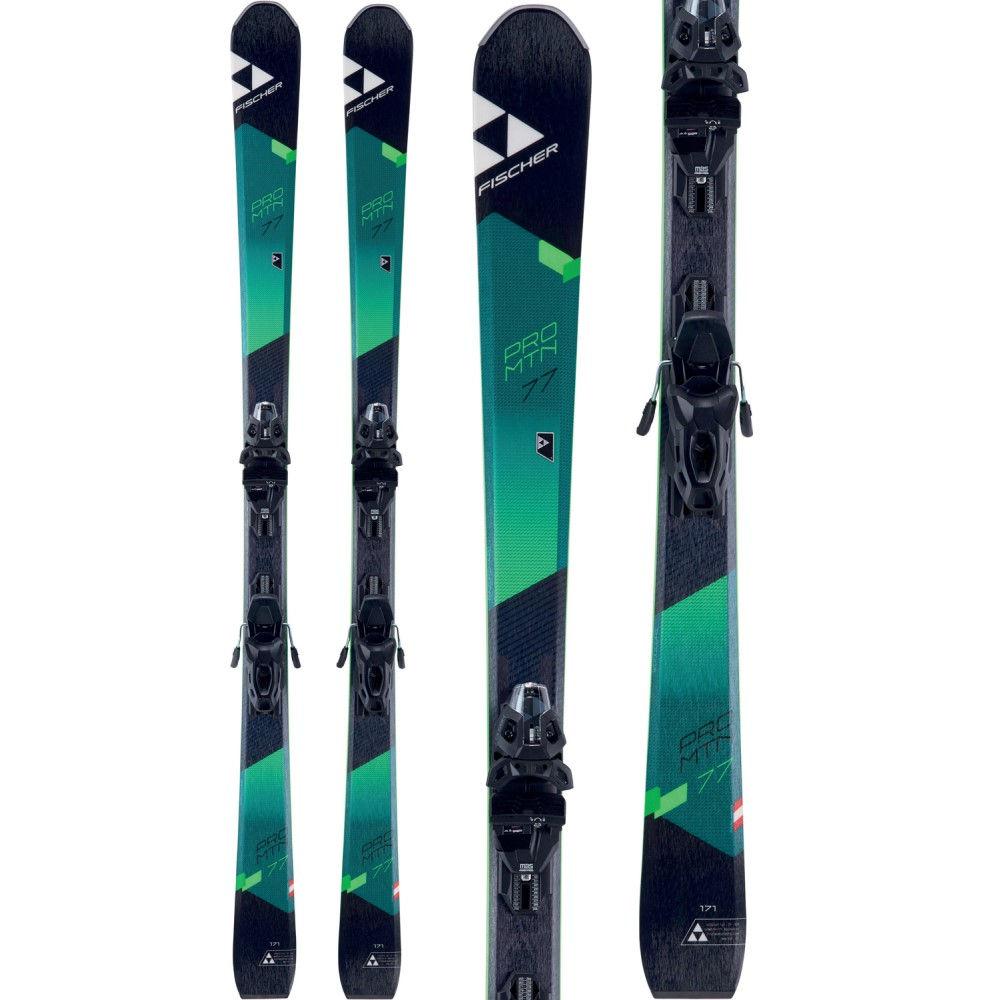 【クーポン対象外】 フィッシャー ユニセックス スキー 2018】 Skis・スノーボード ビンディング【Pro MTN 77 Skis 10 w/ MBS 10 Powerrail Bindings 2018】, Rocca-clann:12e70115 --- canoncity.azurewebsites.net