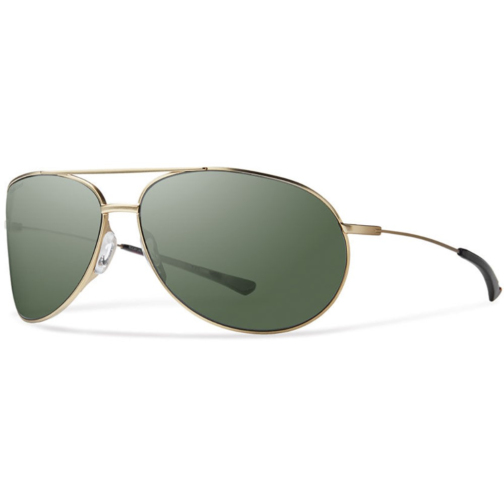 スミス メンズ スポーツサングラス【Rockford Sunglasses】Matte Gold/ Polarized Grey Green Lens