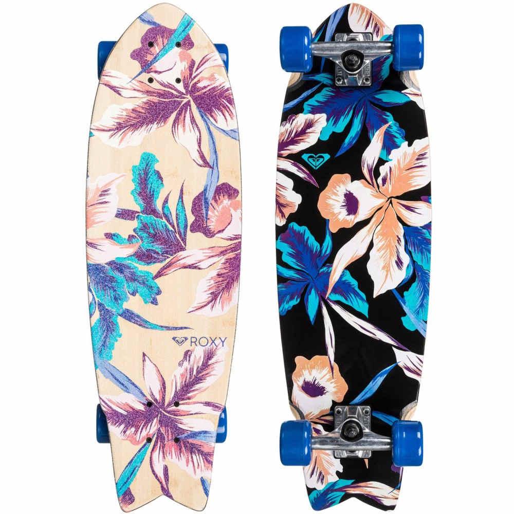 ロキシー レディース スケートボード ボード・板【Hula Swallowtail Cruiser Complete】