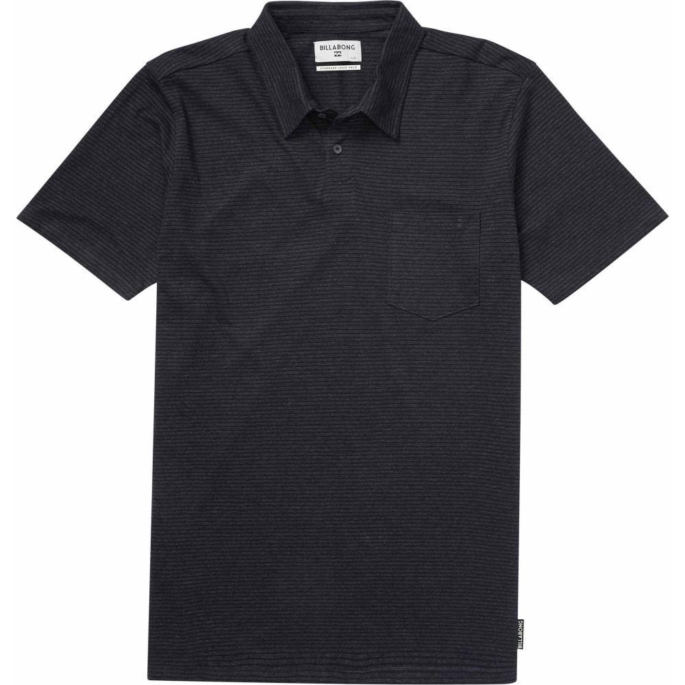 ビラボン メンズ トップス ポロシャツ【Standard Issue Polo】Black Heather
