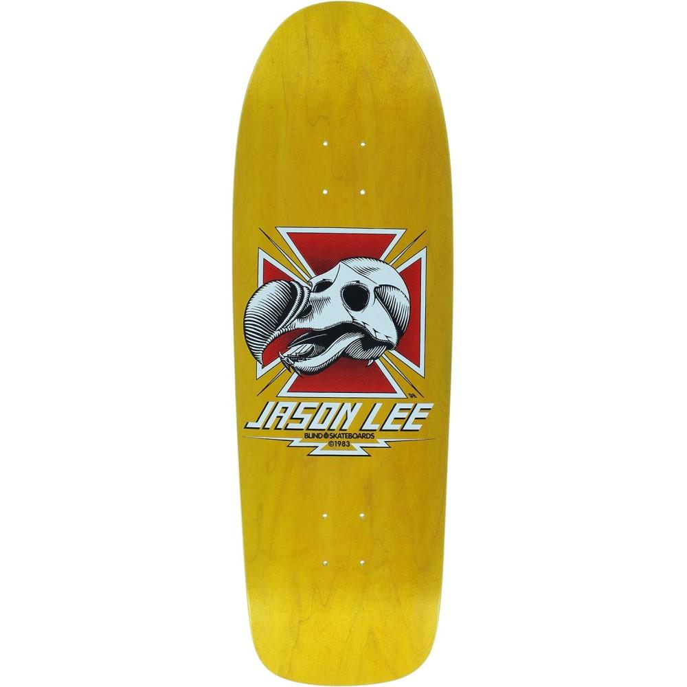 ブラインド ユニセックス スケートボード ボード・板【Heritage Lee Dodo Skull Skateboard Deck】Jason Lee