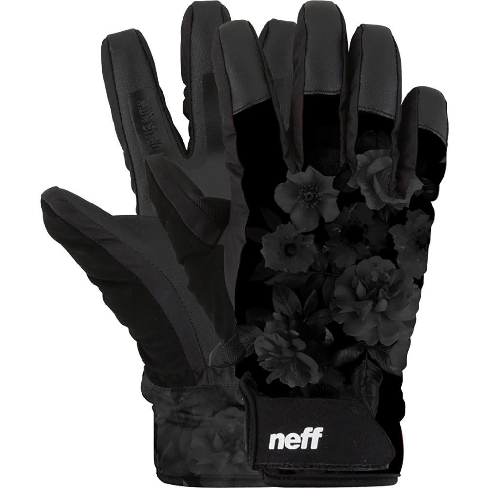 ネフ レディース スキー・スノーボード グローブ【Digger Gloves】Black/ Floral