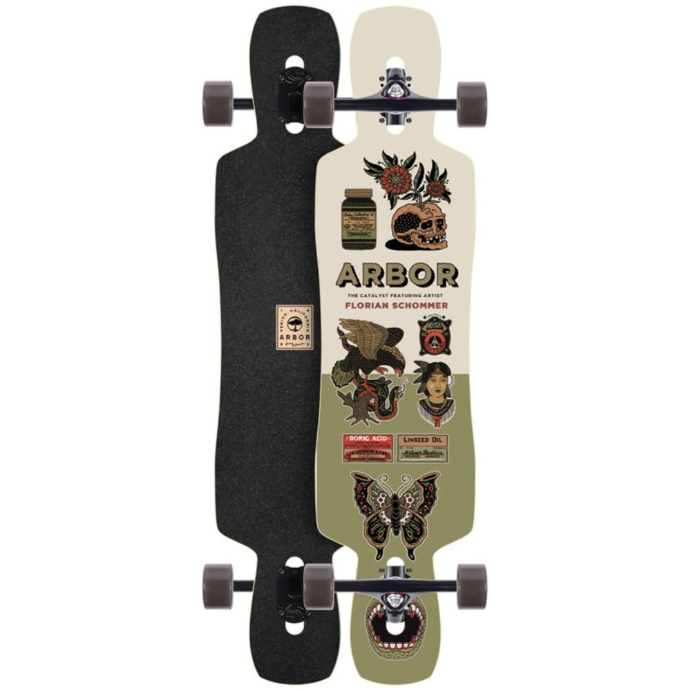 アーバー ユニセックス スケートボード ボード・板【Catalyst Artist Longboard Complete】