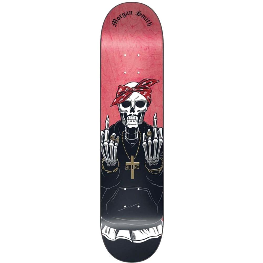 ブラインド ユニセックス スケートボード ボード・板【Reaper Veneer Skateboard Deck】Morgan Smith
