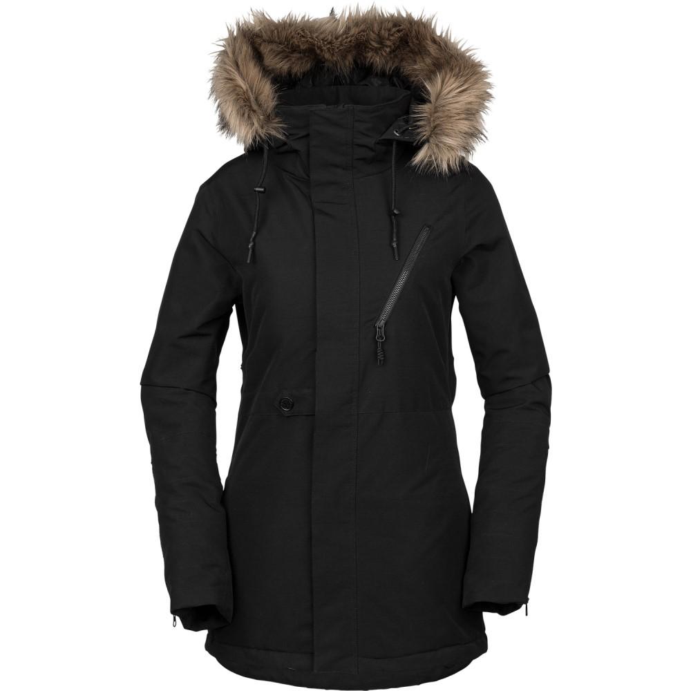 ボルコム レディース スキー・スノーボード アウター【Fawn Insulated Snowboard Jacket】Black